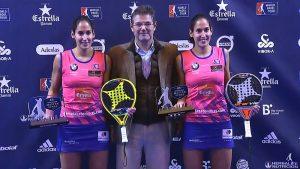 Campeonas Master Final 2017: Mª José S. Alayeto y Mª Pilar S. Alayeto
