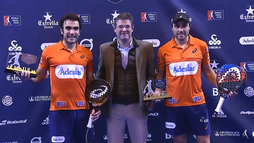 Campeones Master Final 2017: Pablo Lima y Fernando Belasteguín