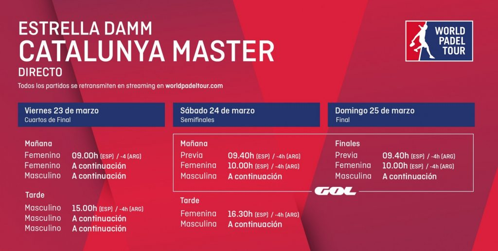 Horarios Streaming: WPT Catalunya Master