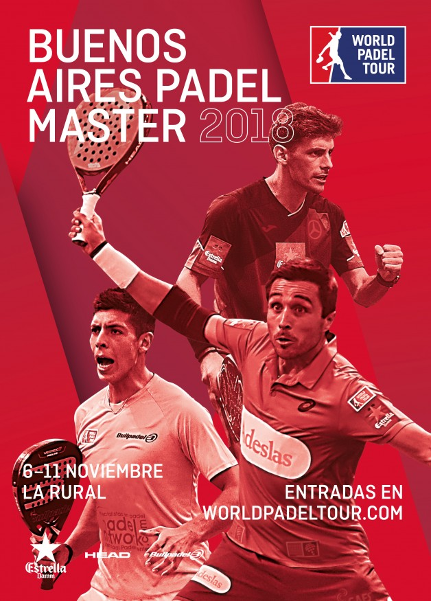 Cartel World Padel Tour Buenos Aires