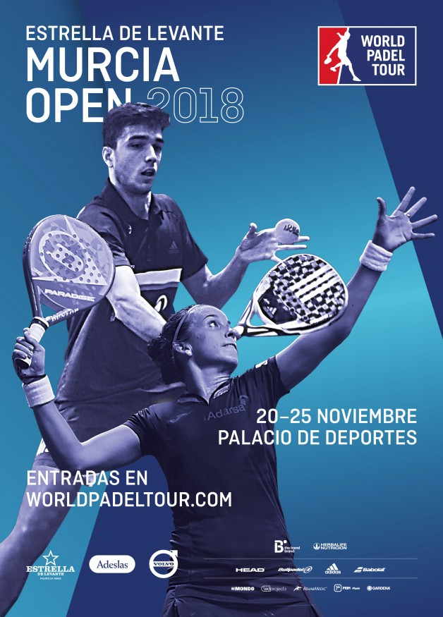 Cartel World Padel Tour Murcia