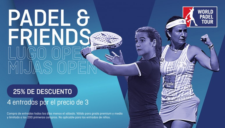 Descuento Padel and Friends