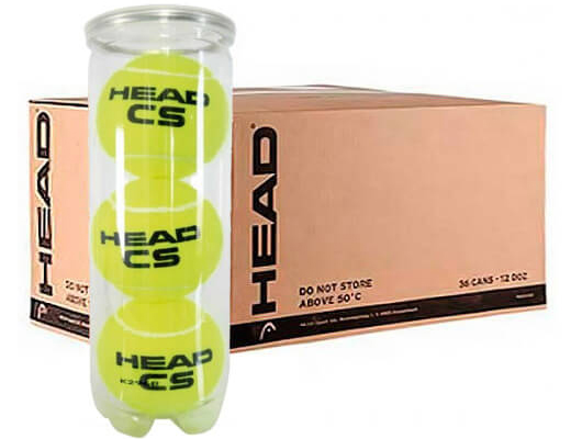 Pelotas de padel HEAD CS