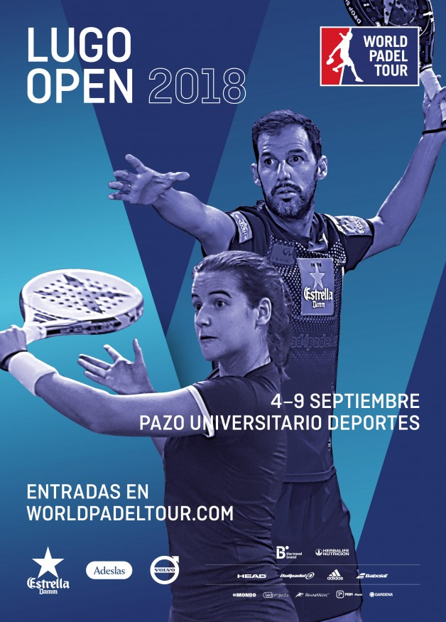 Cartel World Padel Tour Lugo 2018