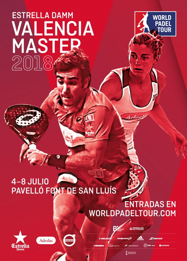 Cartel World Padel Tour Valencia 2018