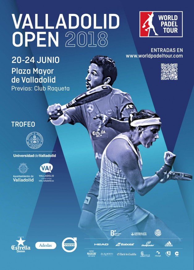 Cartel Valladolid Open 2018