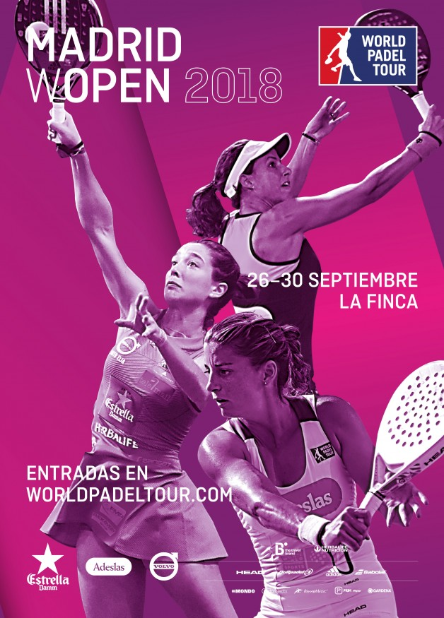 Cartel World Padel Tour Madrid WOpen