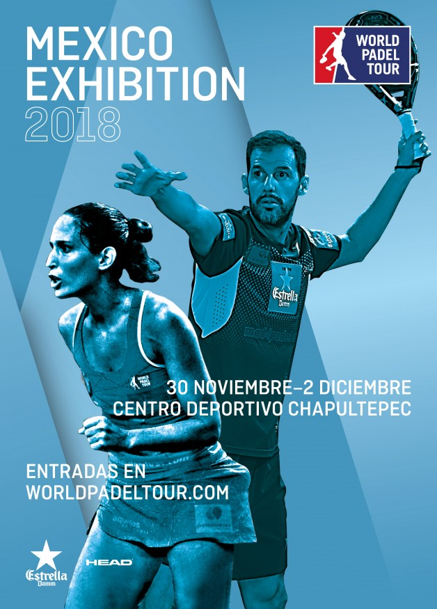 Cartel World Padel Tour Mexico