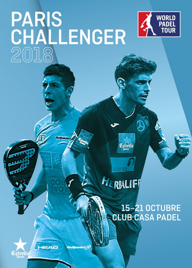 Cartel World Padel Tour París