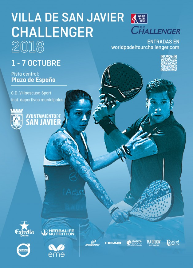 Cartel World Padel Tour Villa de San Javier