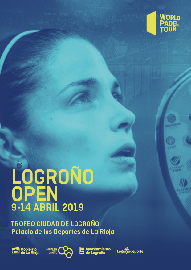 Cartel World Padel Tour Logroño 2019
