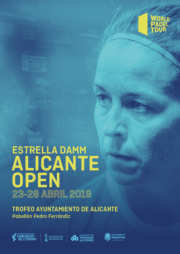 Cartel World Padel Tour Alicante 2019