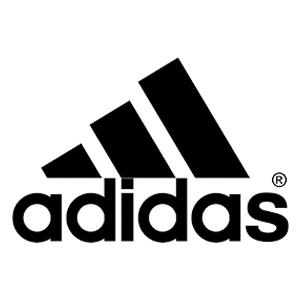 Logo marca de pádel Adidas