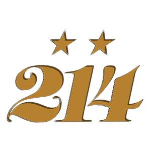 Logo marca de pádel 214 Doscatorce