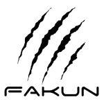 Logo marca de pádel Fakun