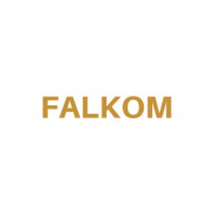 Logo marca de pádel Falkom
