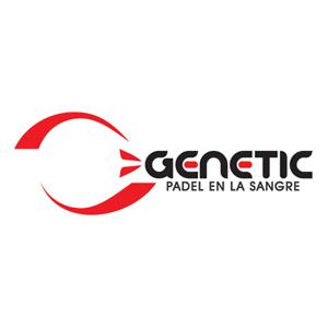 Logo marca de pádel Genetic padel
