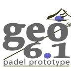 Logo marca de pádel Geo 6.1
